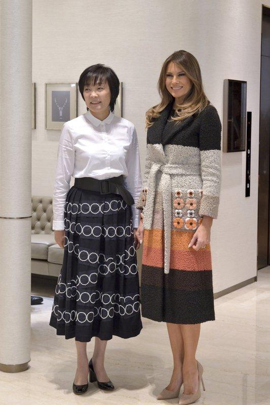 Melania Trump, Akie Abe