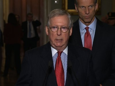 McConnell Reiterates 'Moore Should Step Aside'