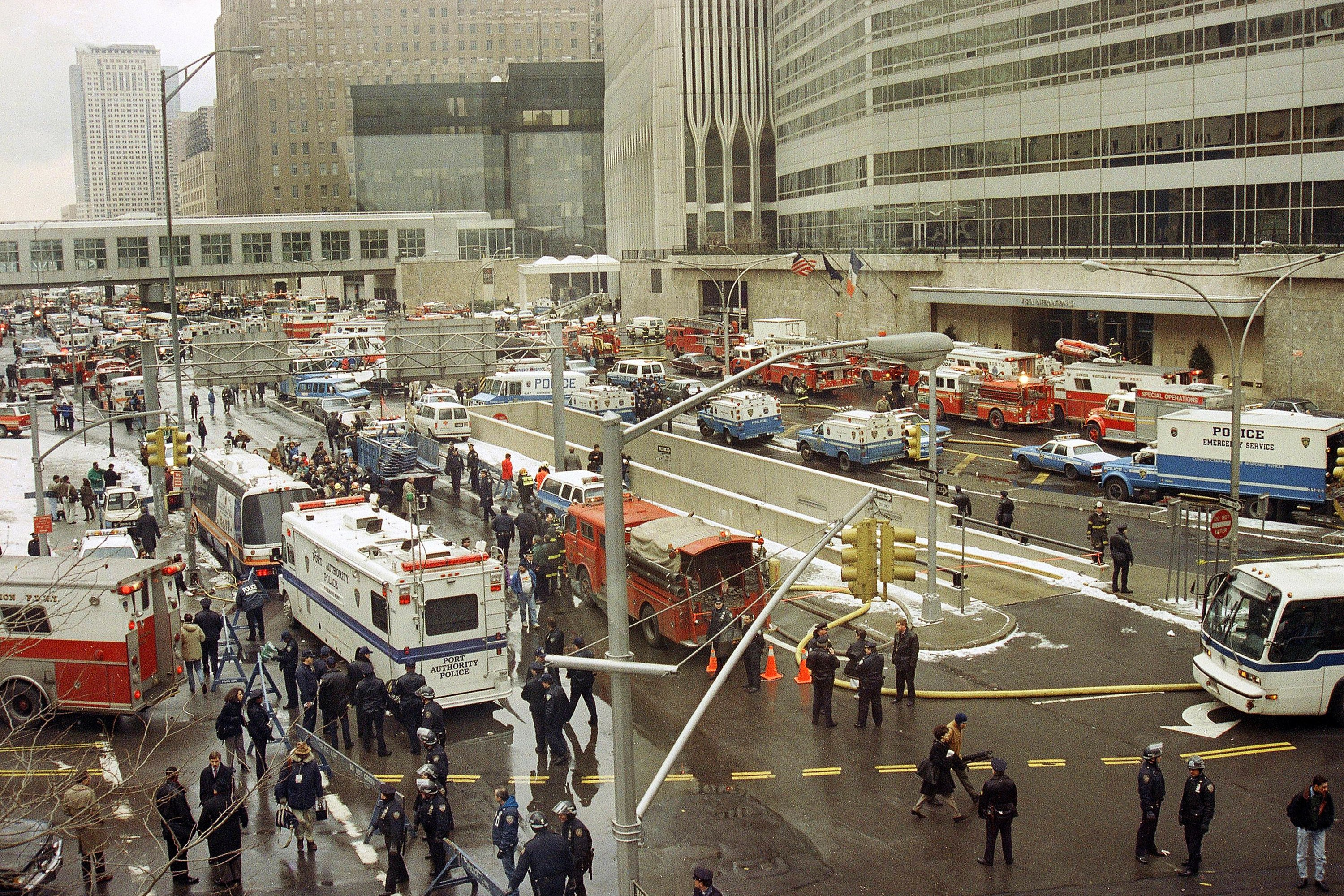 AP Was There: The 1993 bombing of the World Trade Center