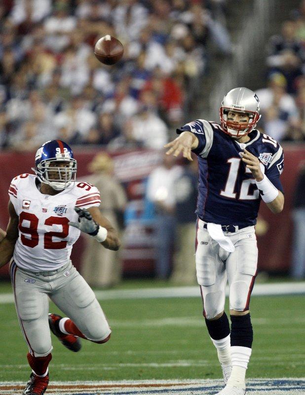 Tom Brady, Michael Strahan