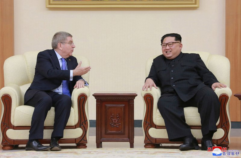 Thomas Bach, Kim Jong Un