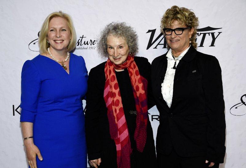 Kirsten Gillibrand, Margaret Atwood, Claudia Eller