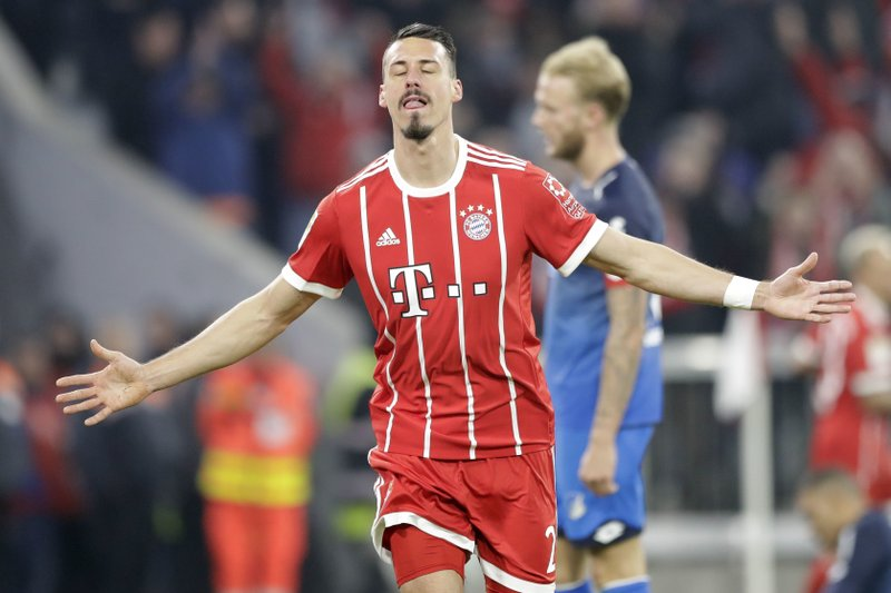 Bayern Recovers To Crush Hoffenheim 5 2 Keeps 16 Point Lead