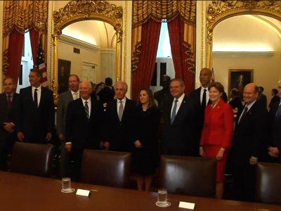 Senators Seek to Soothe US-Canada Relations