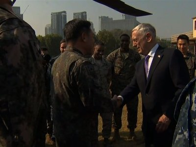 Mattis: 'Doing Everything We Can Diplomatically'