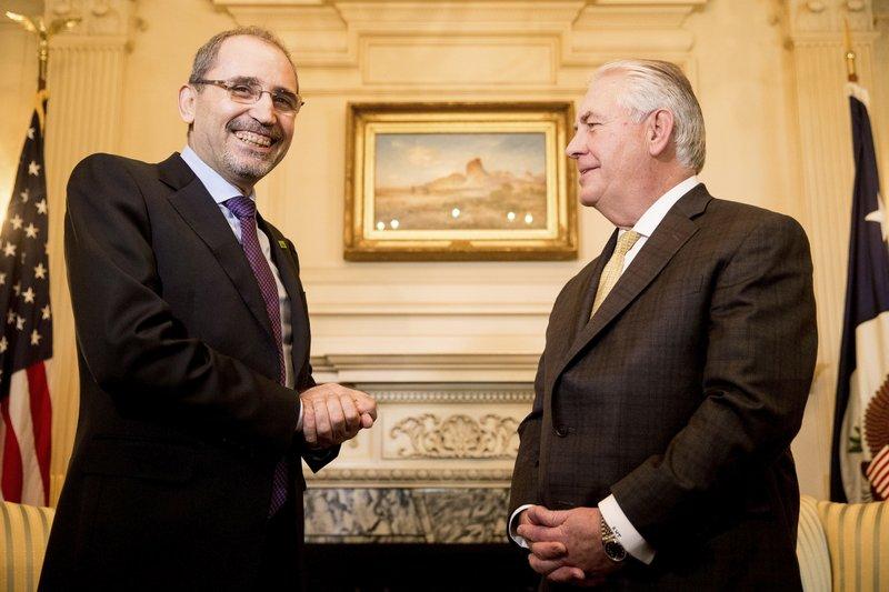 Rex Tillerson, Ayman Al Safadi