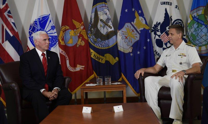 Mike Pence, Phil Davidson