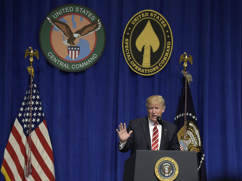 The Latest: Trump says media underreporting attacks