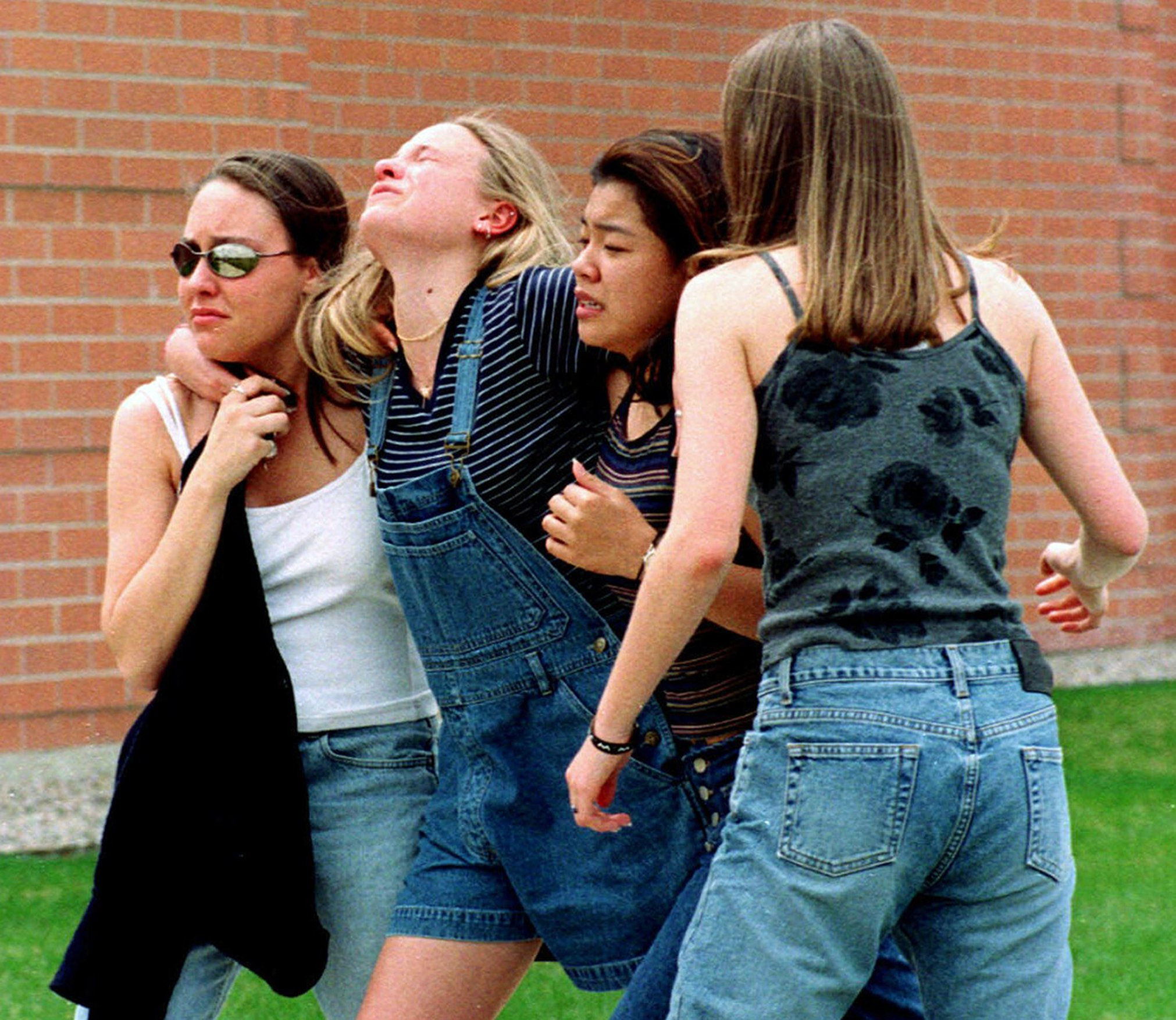 School Shooting In Suburban Denver: AP PHOTOS: Teen Gunmen Unleashed Horror At Columbine In 1999