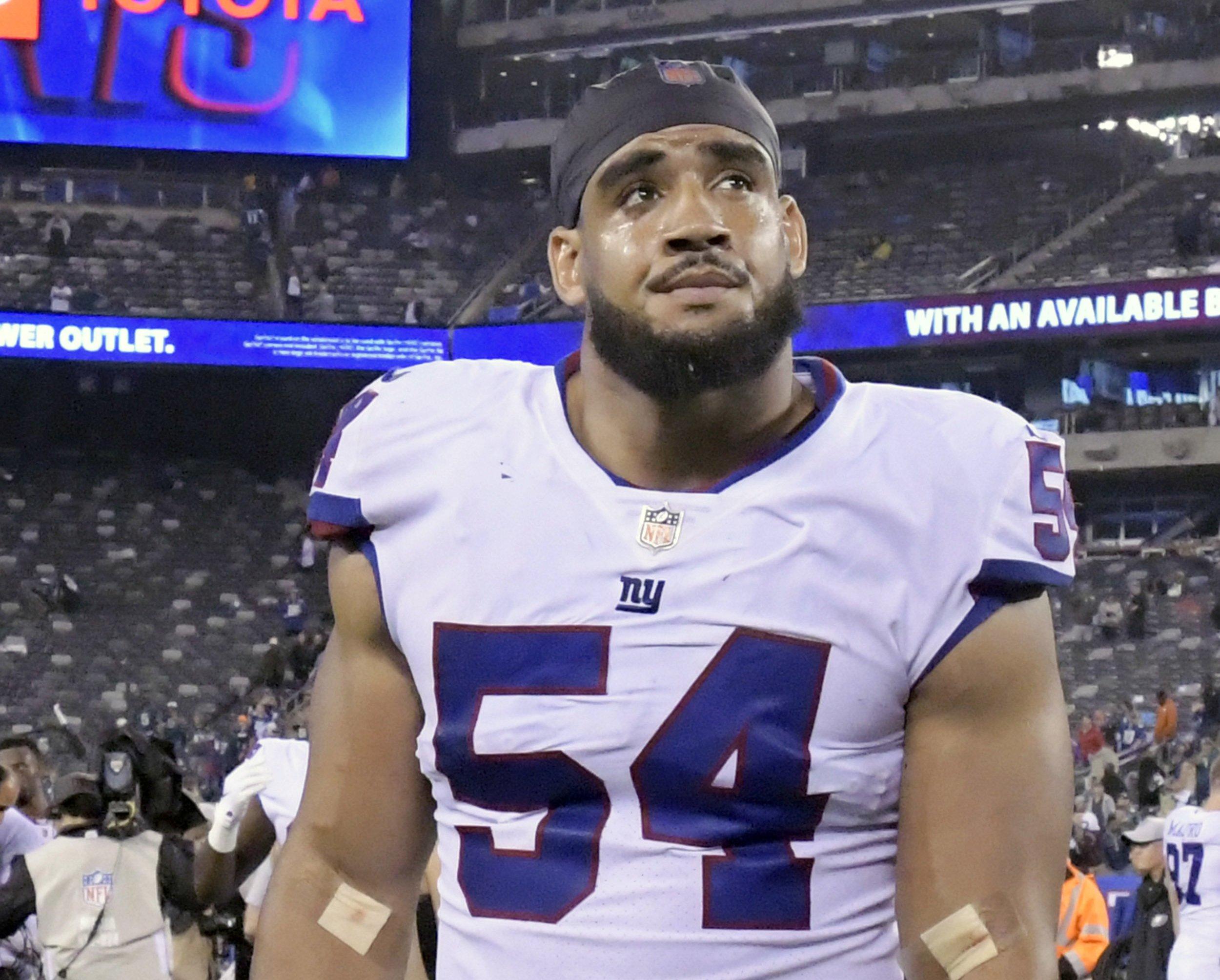 Giants LB Olivier Vernon struggling after ankle injury