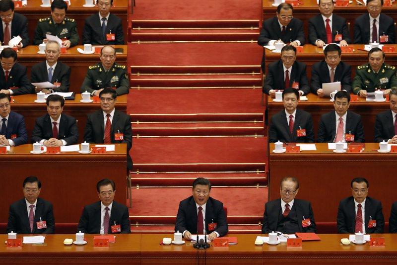 Xi Jinping, Hu Jintao, Jiang Zemin, Li Keqiang
