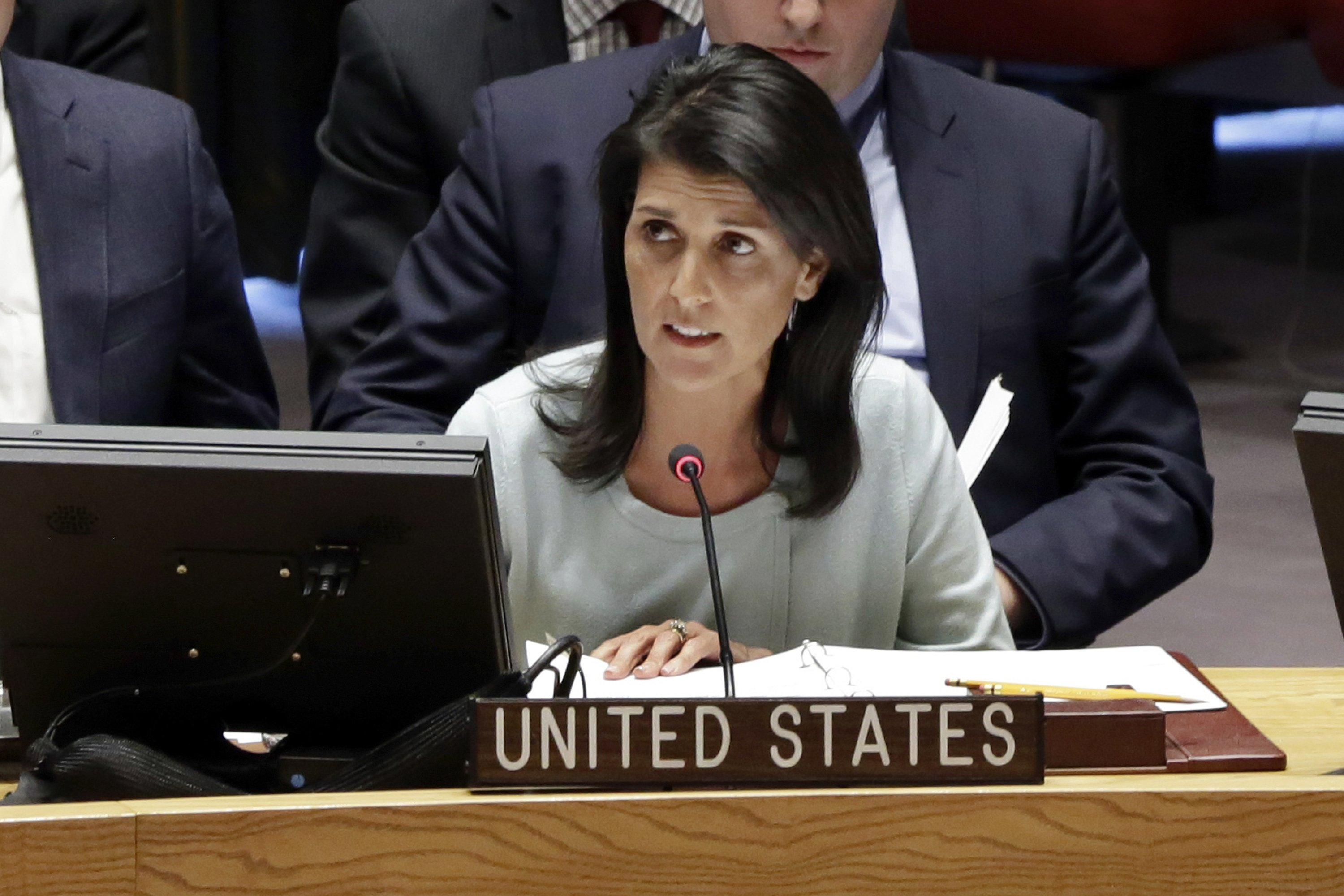 US condemns Russia's 'aggressive actions' in eastern Ukraine