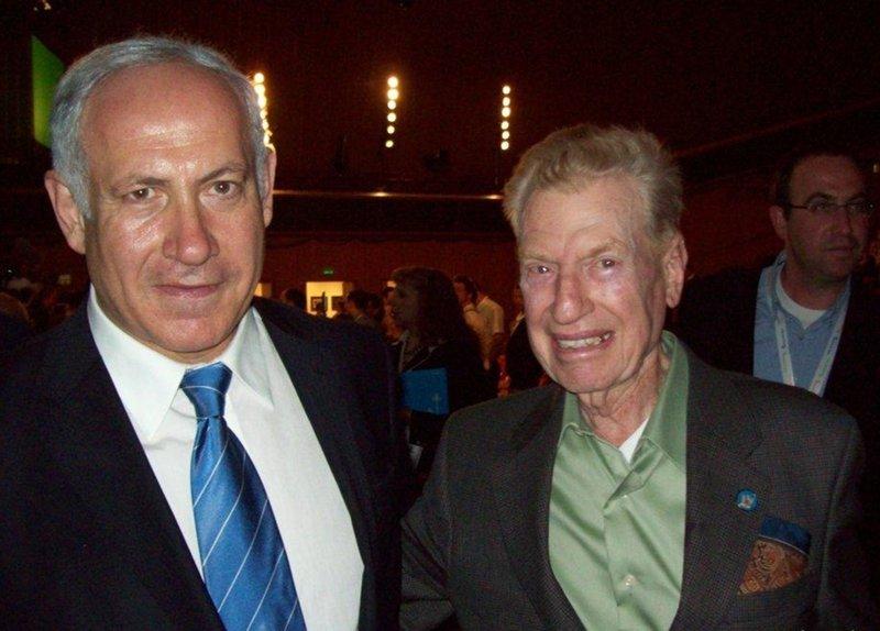 Mitchell Flint, Benjamin Netanyahu