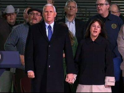 VP Pence Honors Texas Victims at Prayer Vigil