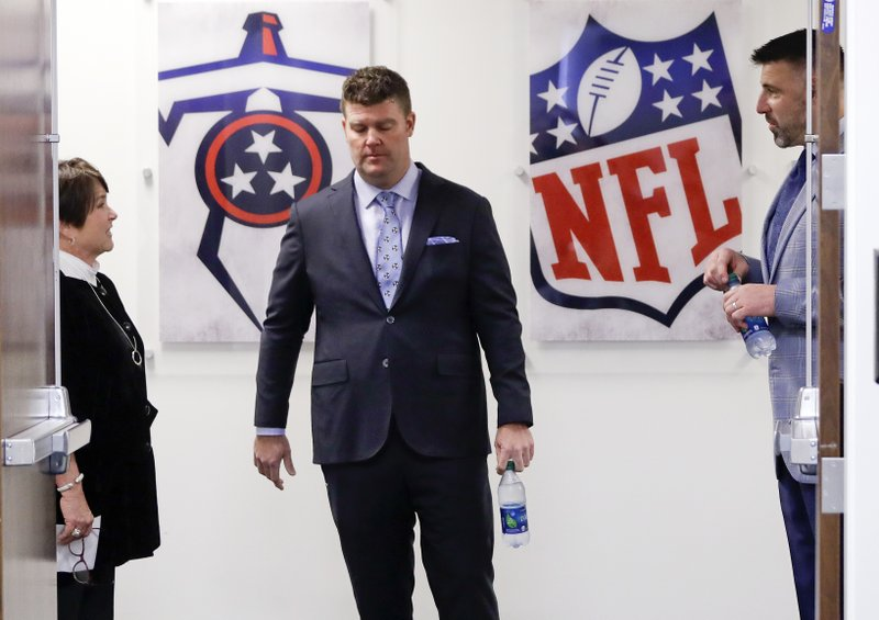 Mike Vrabel, Amy Adams Strunk, Jon Robinson