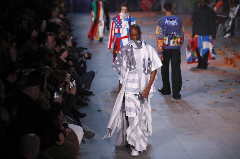 d5be2eaa922e Vuitton s Abloh celebrates Michael Jackson in Paris menswear