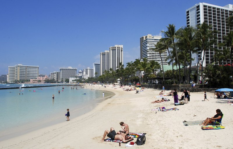 Hawaii cites tourism fears in lawsuit over travel ban