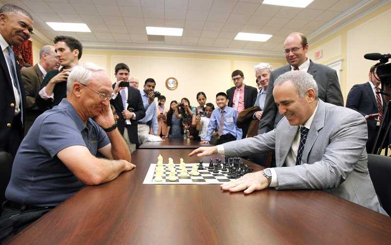 Rex Sinquefield, Garry Kasparov