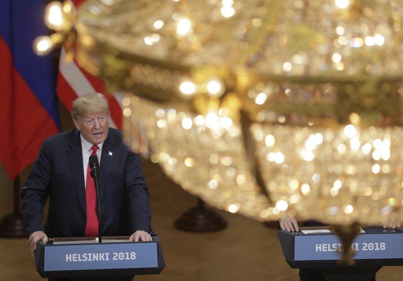 apnews.com - By MATTHEW LEE and ZEKE MILLER - Analysis: Slogan becomes 'Me First' as Trump meets Putin