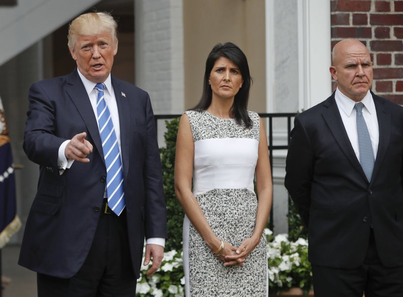 Donald Trump,Nikki Haley,H.R. McMaster
