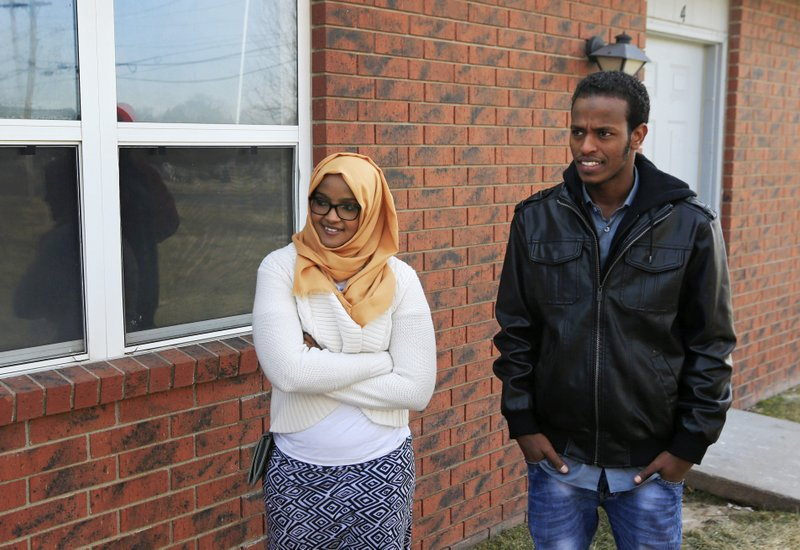 Superior 3, 2017, File Photo, Ifrah Ahmed, Left, And Mursal Naleye Stand Outside A  New Walk In Clinic In Garden City, Kan. Kansas Is Launching A Project To  Help ... Ideas