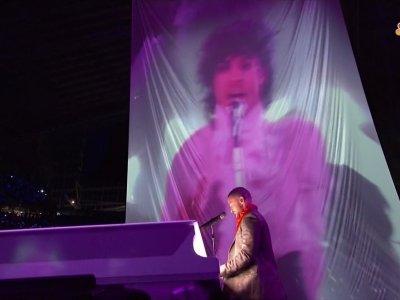 Pink and Justin Timberlake perform at Super Bowl