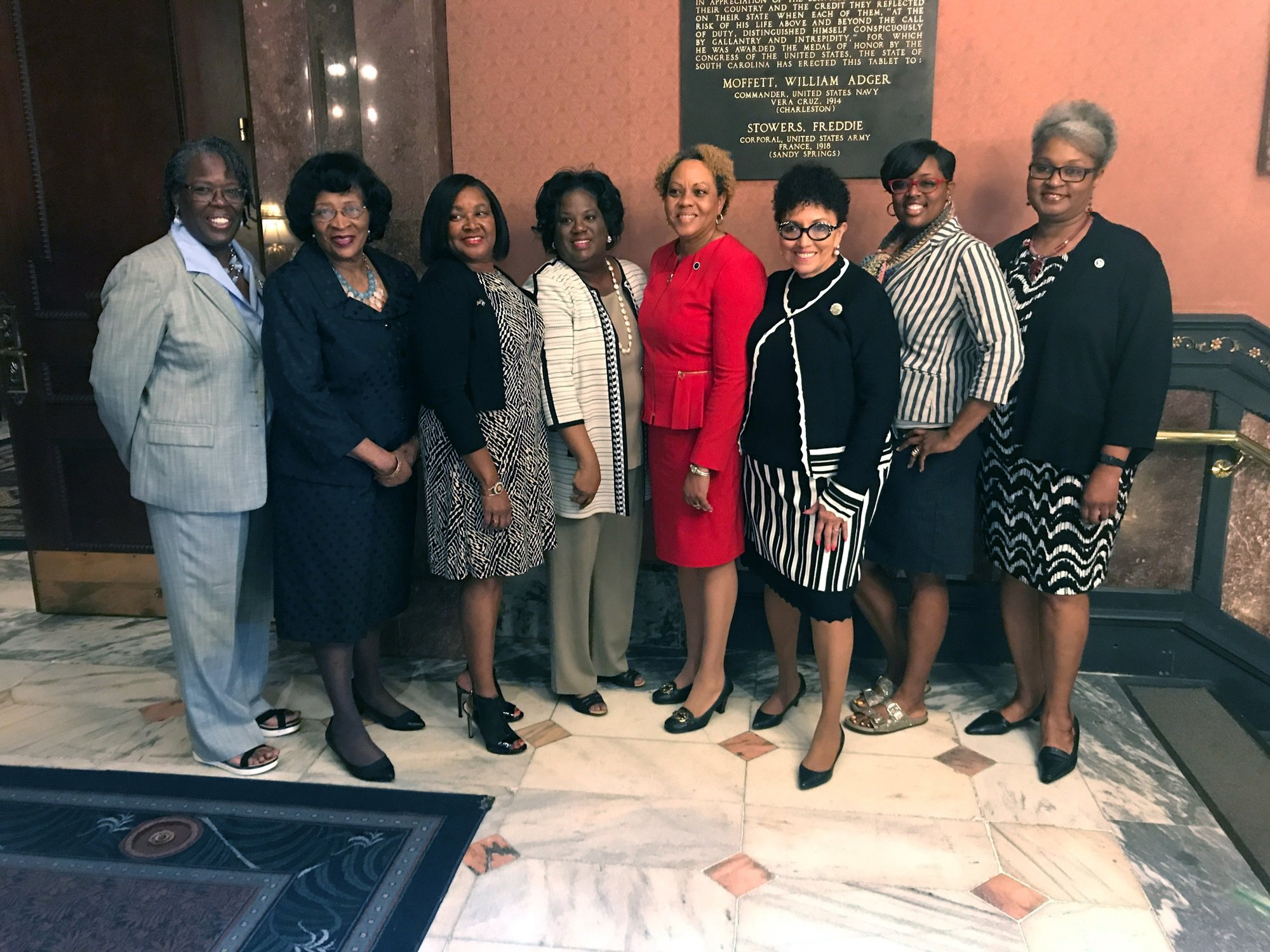 9 African American women make history in SC House