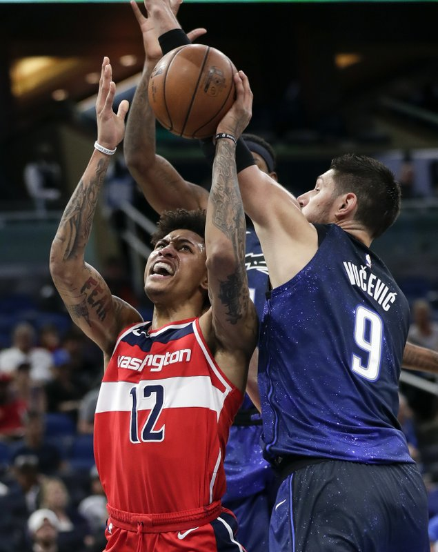 Kelly Oubre Jr., Nikola Vucevic