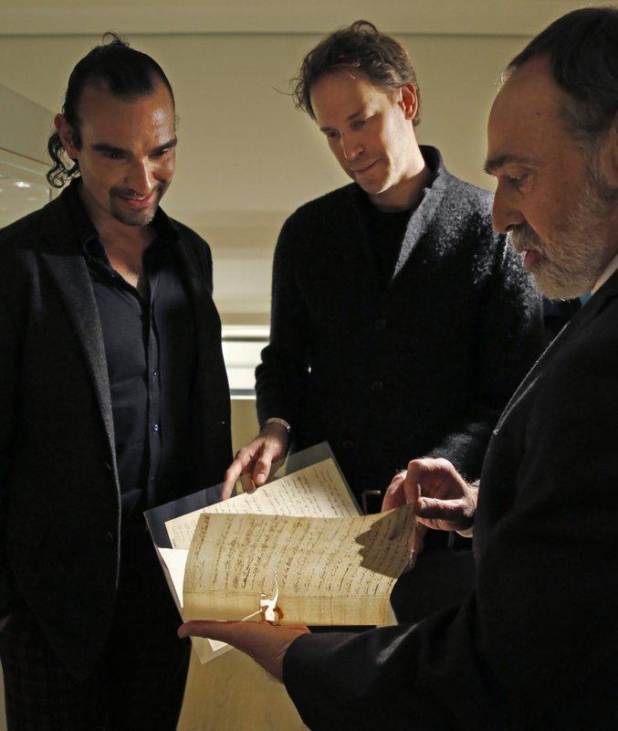 Javier Munoz, David Korins, Selby Kiffer