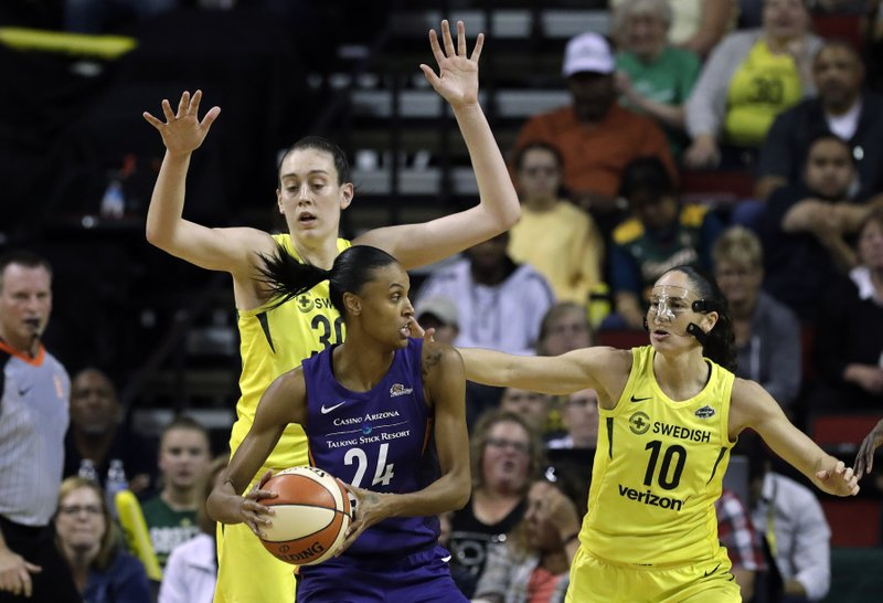 Sue Bird, Breanna Stewart, DeWanna Bonner