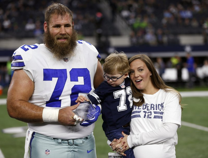 Cowboys move on at center with ill Frederick on their mind