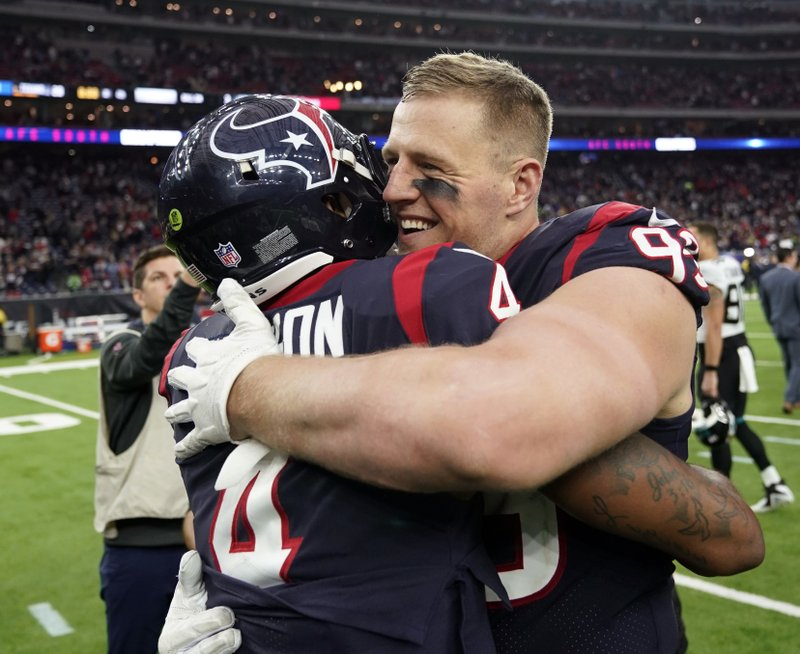 Healthy Watt And Watson Lead Texans Into Playoffs