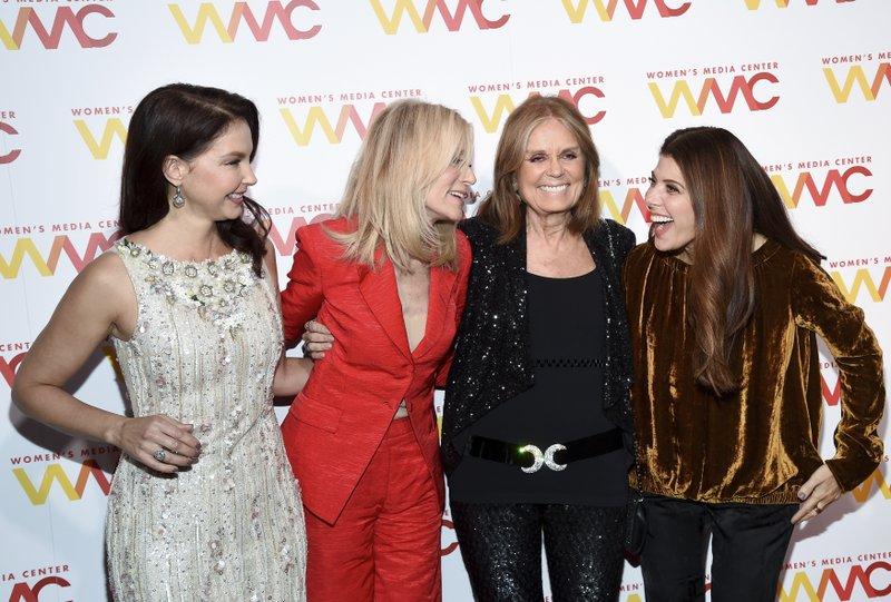 Ashley Judd, Judith Light, Gloria Steinem, Marisa Tomei