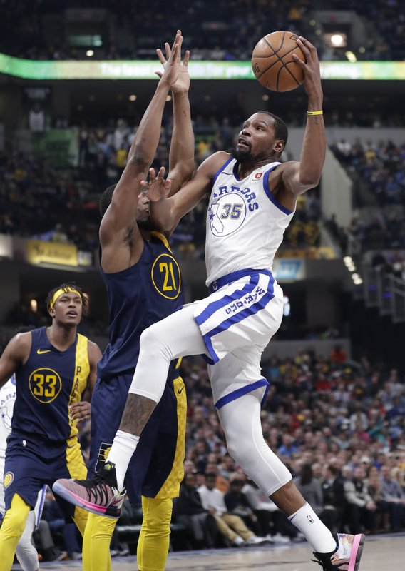 Thaddeus Young, Kevin Durant