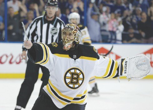 Veteran Rask Excited to Put Mask on Again