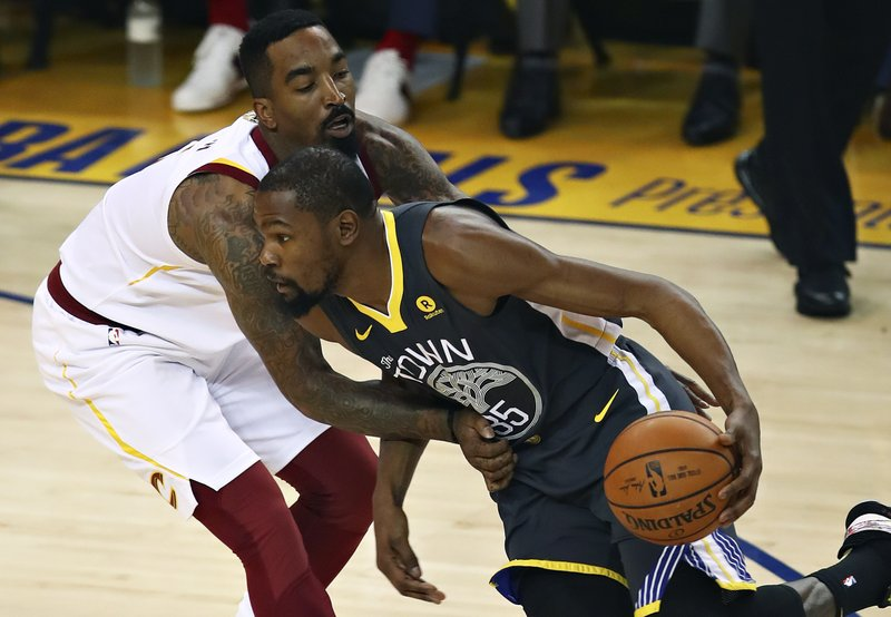 Kevin Durant, J.R. Smith