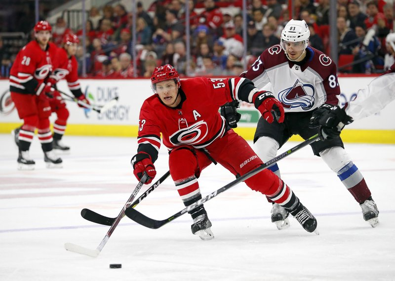 Sabres acquire Jeff Skinner in trade with Hurricanes. NHL hockey ... 8fb5e8c0e