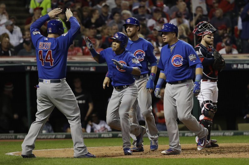 eb1920e67 The Latest: Russell's slam gives Cubs 7-0 lead in 3rd inning