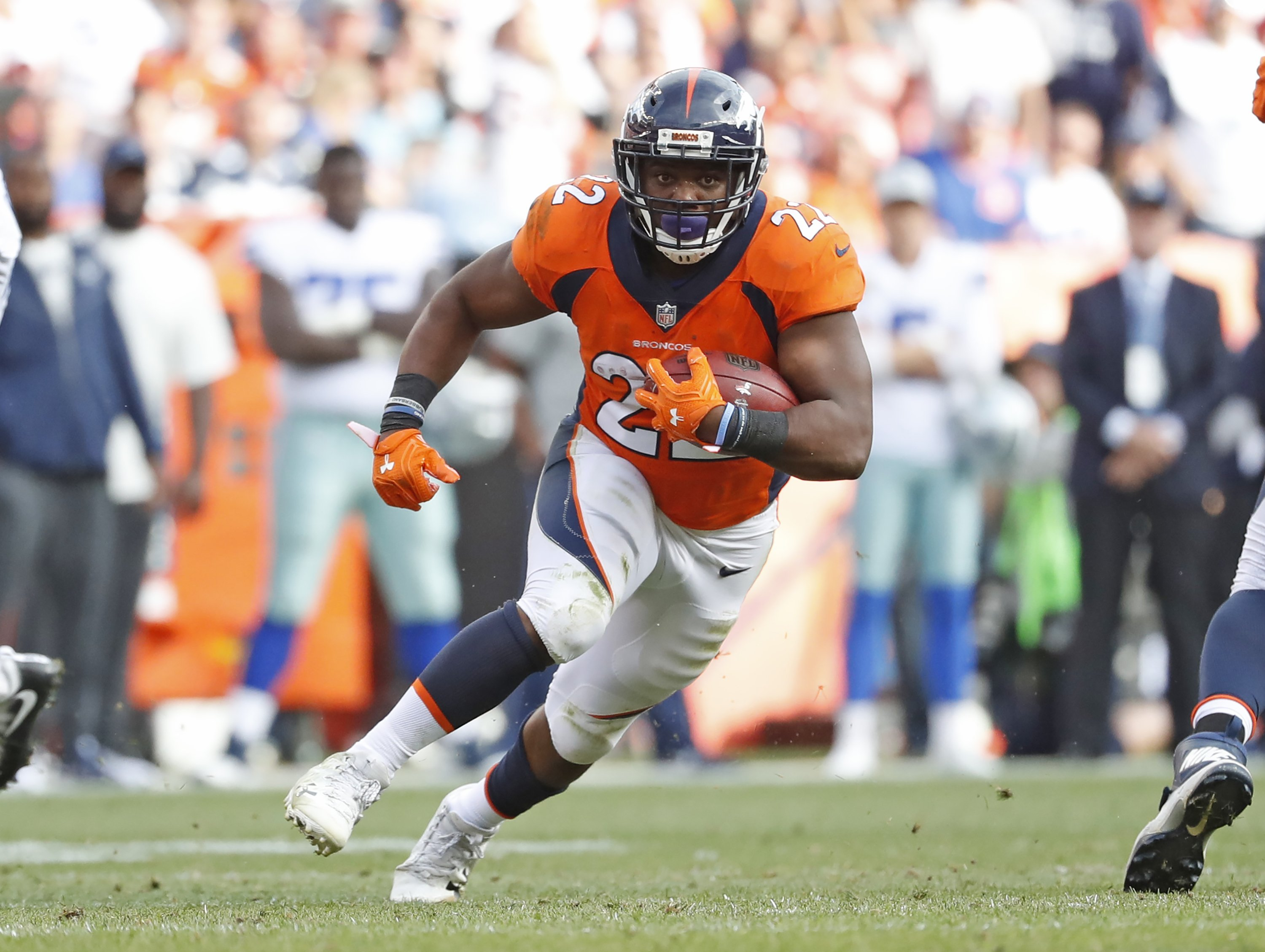 311dfb8318c Broncos  Anderson returns from 2016 injury with a vengeance