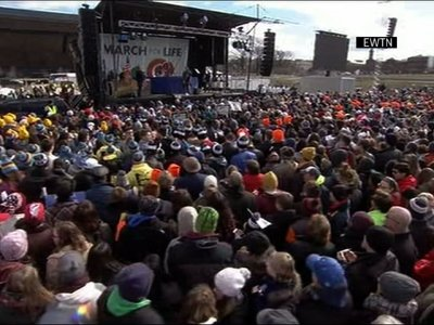 Crowds Gather in DC for March for Life