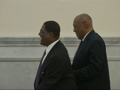 Cosby, Accuser Arrive in Courtroom