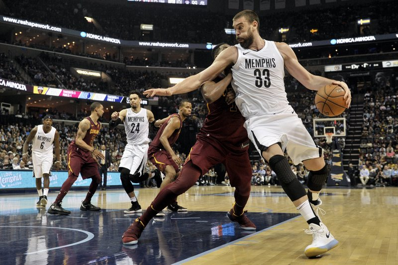 Marc Gasol, Tristan Thompson