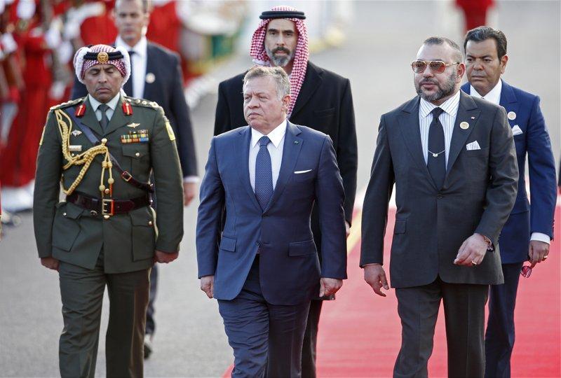 Mohammed VI, Abdullah II