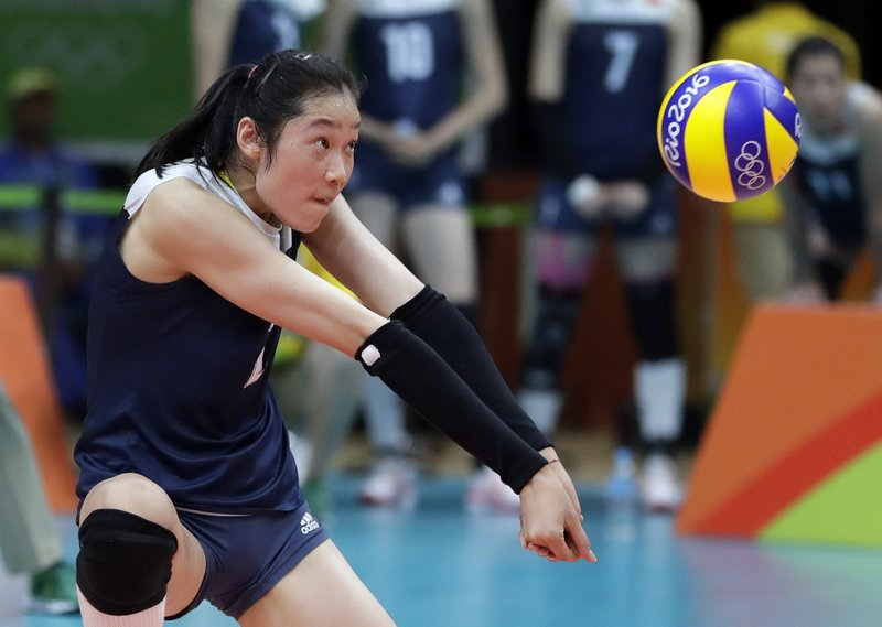 Women S Volleyball Captain Zhu Leads China Into Asian Games
