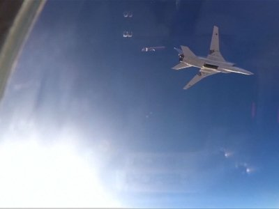 Russian Bombers Take Off from Iran for Syria