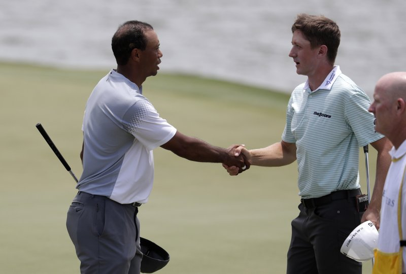 Tiger Woods, Mackenzie Hughes