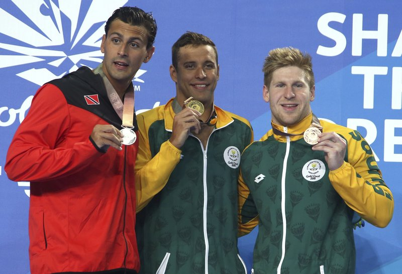Chad Le Clos, Dylan Carter, Ryan Coetzee