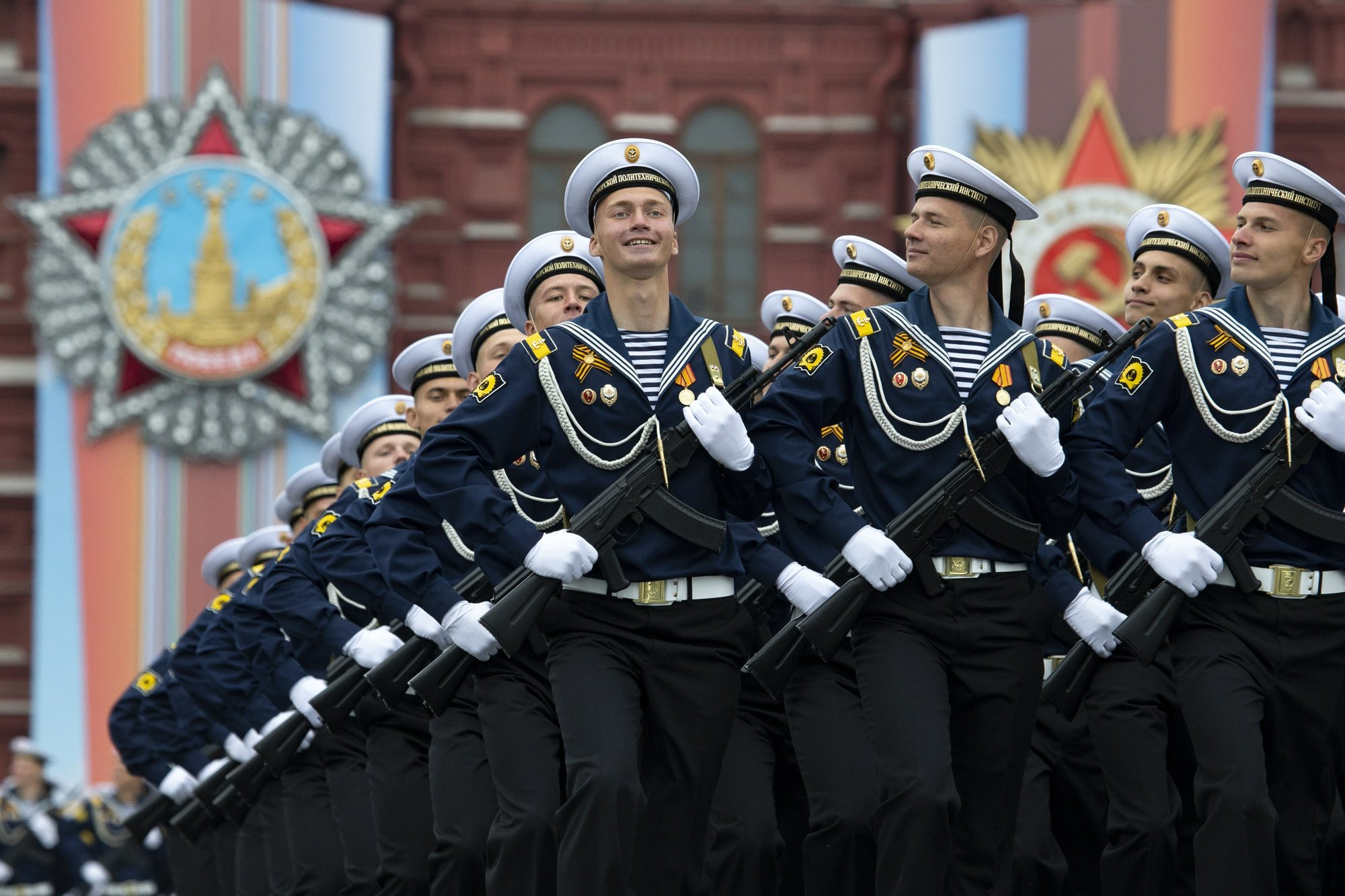 Putin on Victory Day: Russian military will be strengthened