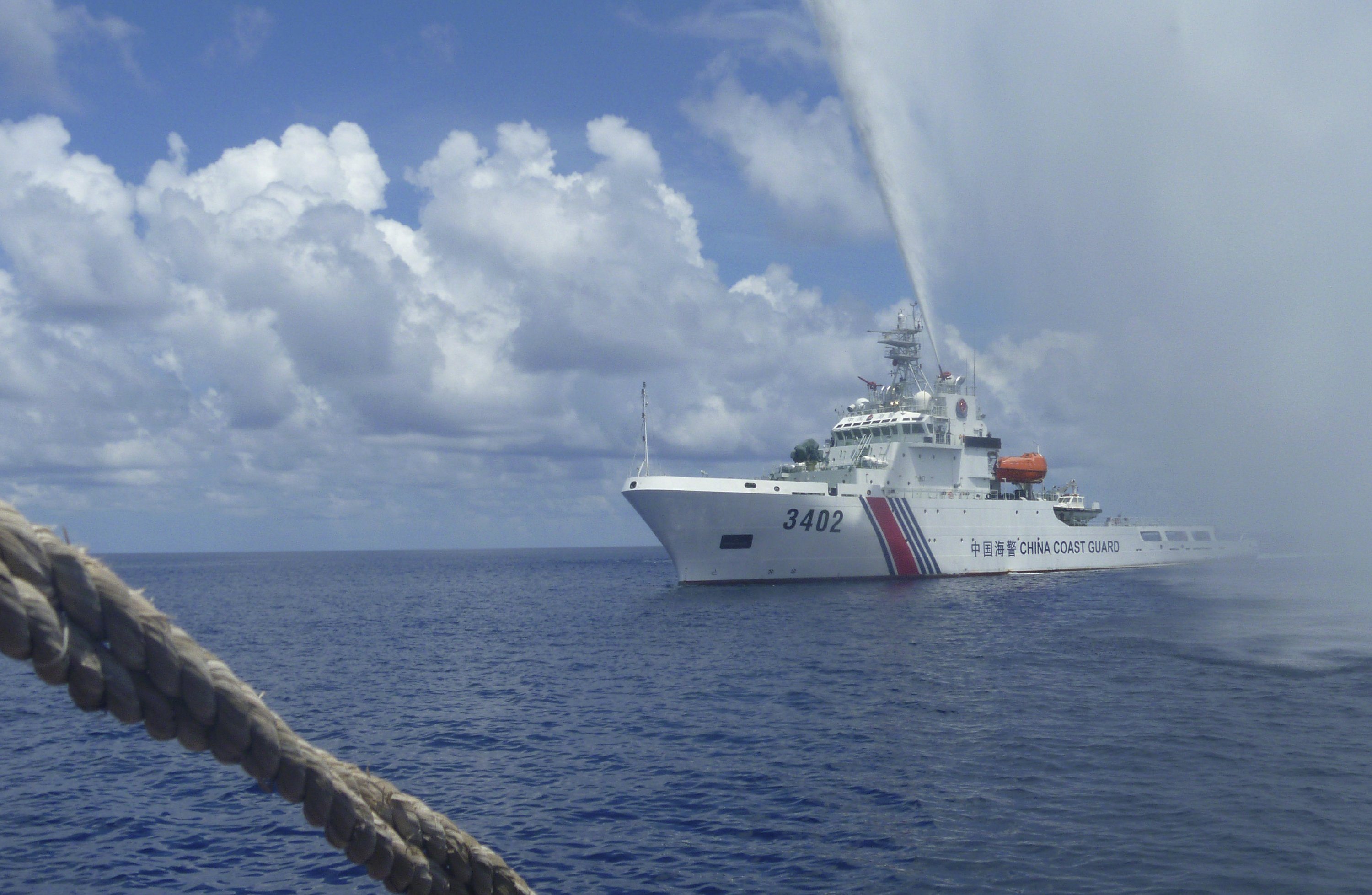 Philippines, US verifying if Chinese left disputed shoal