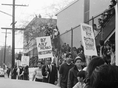 '68 LA Protest Organizer Sees Link to Fla. Teens